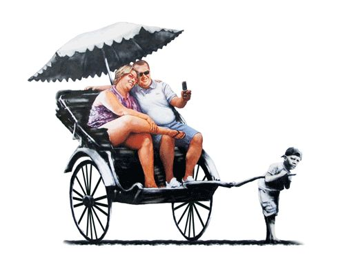 Banksy's Street Art Comes to Life in Clever Animated GIFs - My Modern Metropolis
