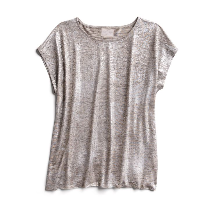 Holiday Stylist picks: Metallic tee