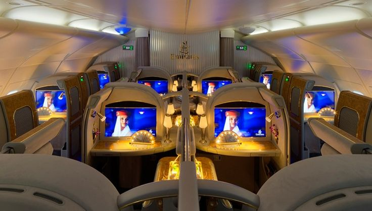 2: Emirates First Class Private Suite | The 10 Best First-Class Airline Cabins for Holiday Travel [SLIDESHOW]