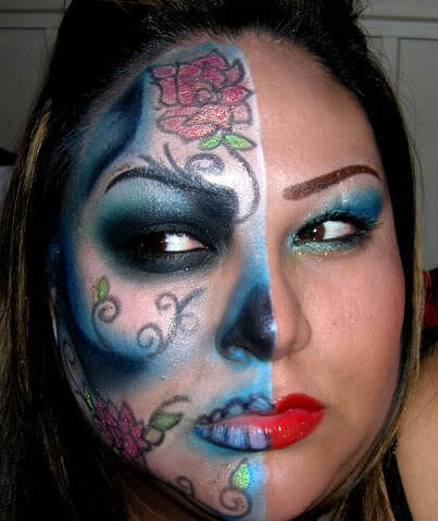46 best images about day of the dead face painting on
