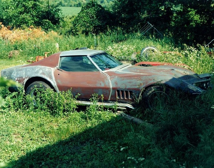 stingray vintage cars pinterest abandoned vehicles the o 39 jays and the hard. Black Bedroom Furniture Sets. Home Design Ideas