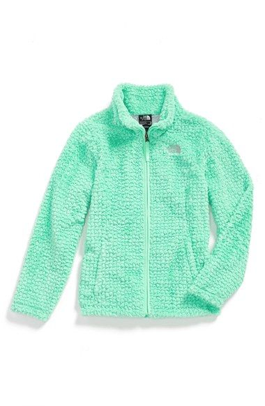 The+North+Face+'G+Laurel'+Fleece+Jacket+(Big+Girls)+available+at+#Nordstrom