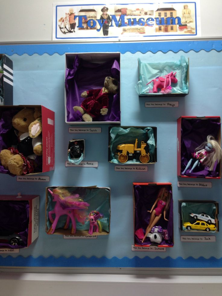 Toy museum classroom display                                                                                                                                                                                 More
