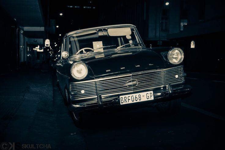 Old Opel vehicle