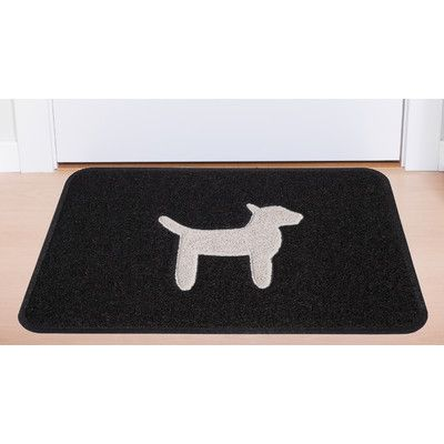 Smartcatcher Mat Dog Modern Door Mat Color: