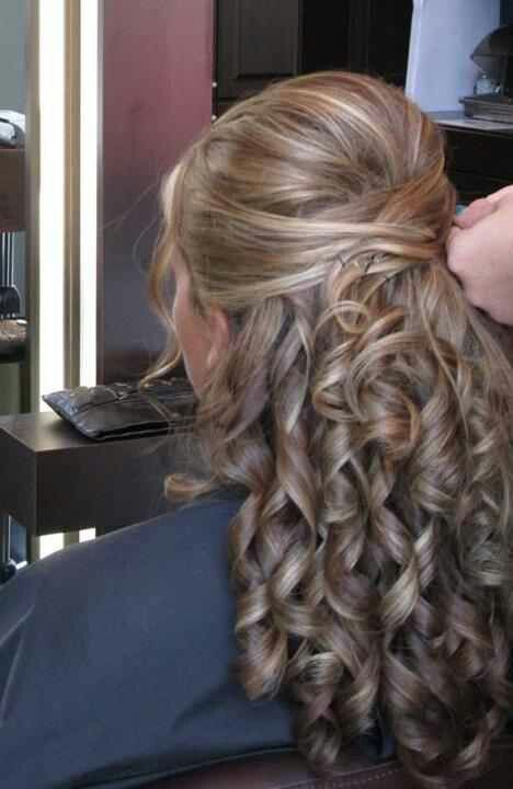 52 Best Wedding Half Up Half Down Hairstyles Images On Pinterest | Hairstyles Marriage And Braids