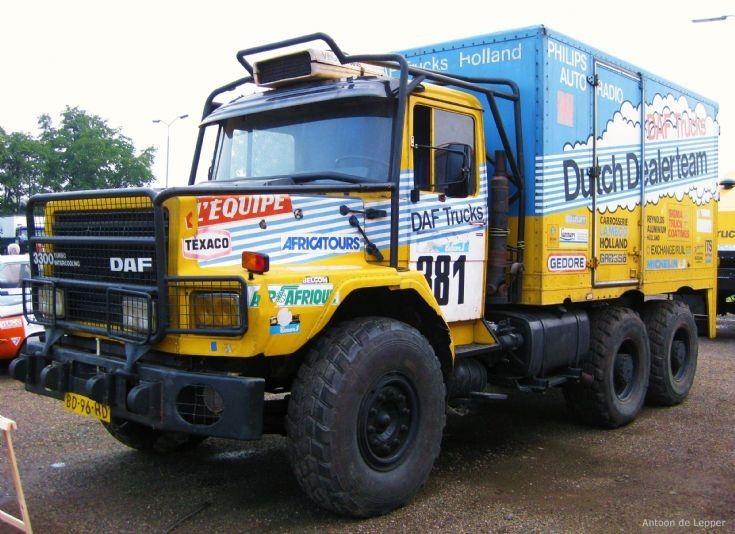 1982 Daf Truck, Paris - Dakar.