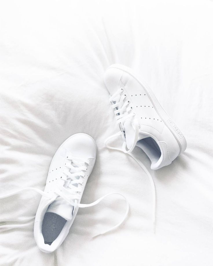 "Anna on Instagram: ""New in: all white Stan Smith #allwhitestansmith #whitesneakers"""