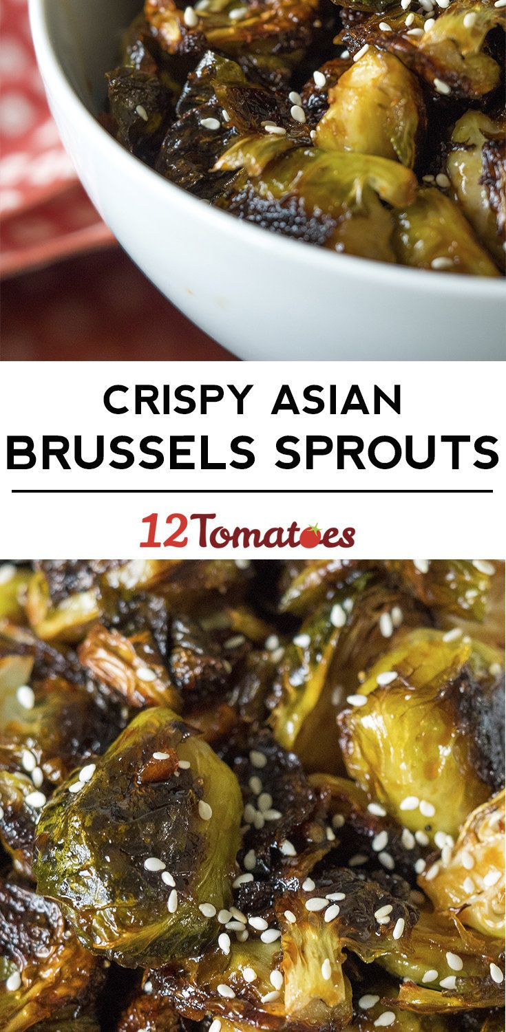 Crispy Asian Brussels Sprouts-12 Tomatoes