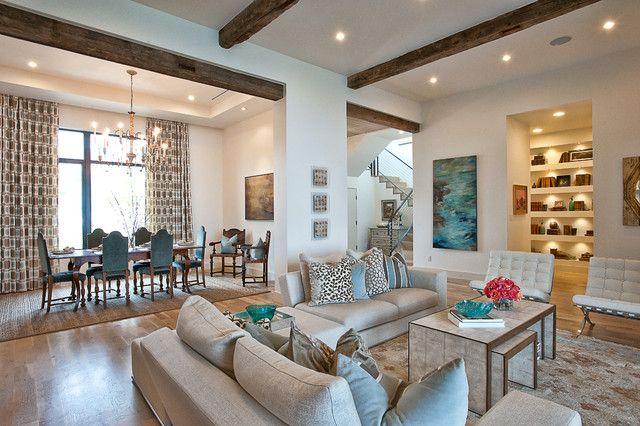 Ordnen Sie Ihr Wohnzimmer an: Ideen für kleine und große Zimmer