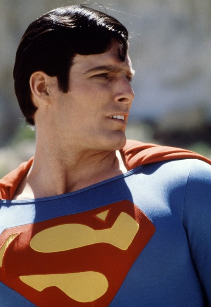 Christopher D'Olier Reeve as Superman (1978) - love Cavill super lots but he still has big shoes to fill after Reeve, RIP.  Donner a thousand times better than Snyder at telling a good story.