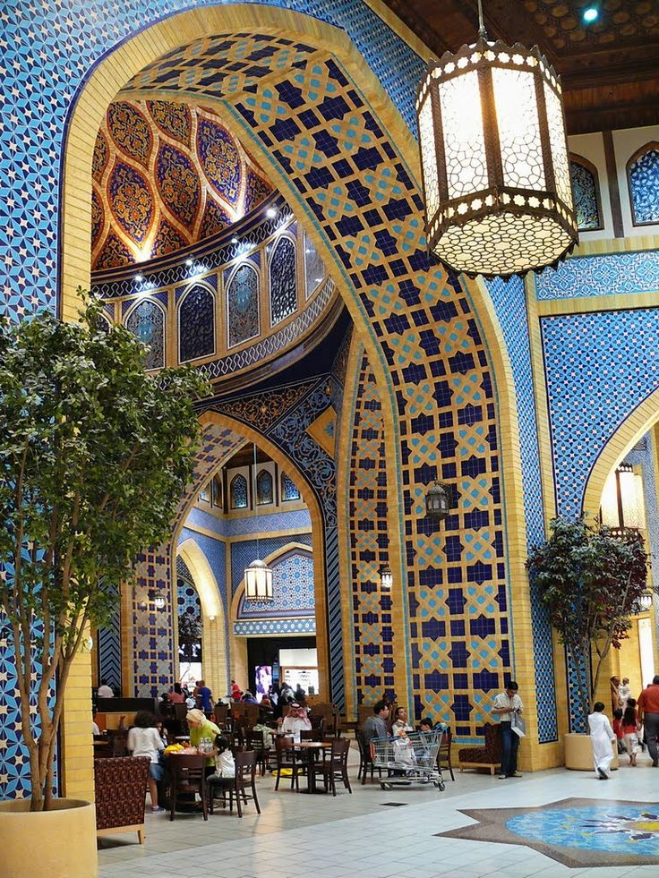 Ibn Battuta Shopping Mall, Dubai. Now that is shopping in style.