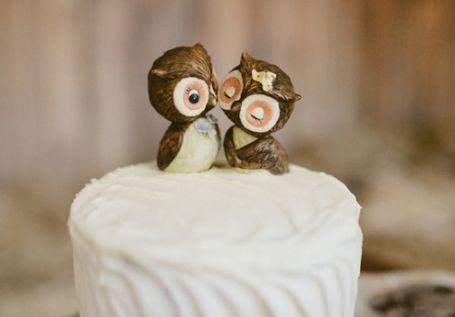 Unique Wedding Cake Toppers - Calluna Events