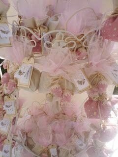 La Signora delle Idee: Angeli, sacchetti e borsette per il battesimo dell...