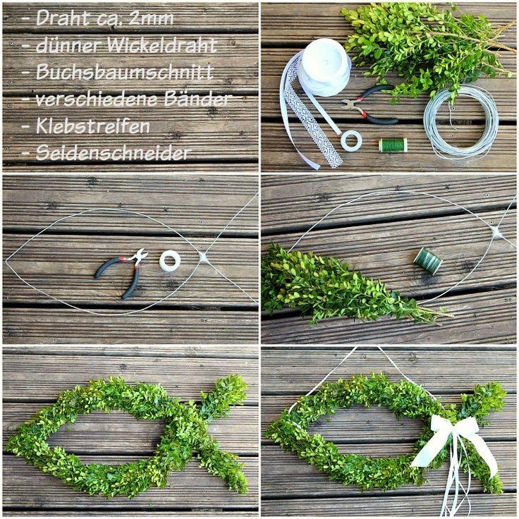 Fabalino: Buchsbaumfisch DIY