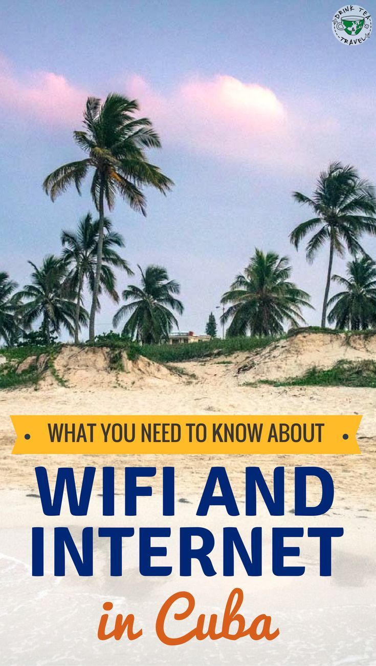 A guide to internet in Cuba. What you need to know about wi-fi and internet in Cuba. How to stay online on your vacation in Cuba.