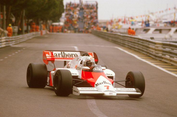 Alain Prost (Monaco 1984) by F1-history on DeviantArt