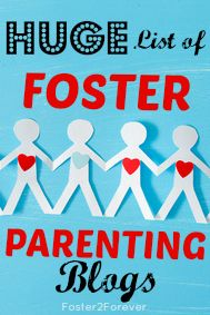 Check out this HUGE list of over 80 blogs by #fosterparents!!! #fostercare