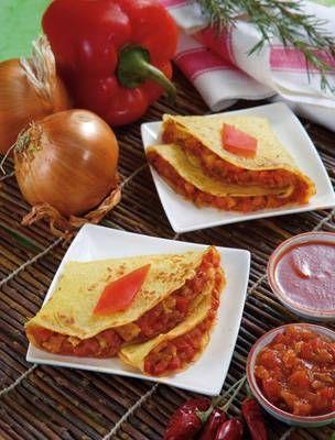 Oggi vi proponiamo la ricetta per preparare delle crepes piccanti al maiale che fanno parte della cucina messicana, provatele anche voi, vedrete che vi piaceranno!