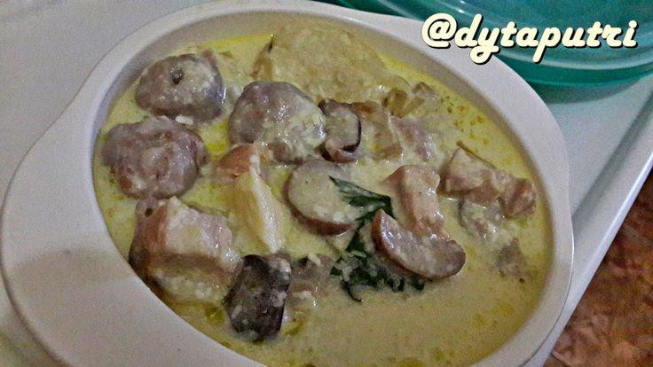 THE DYTAPUTRI: Resep MPASI : Potato Meatballs in Cream Cheese (12...