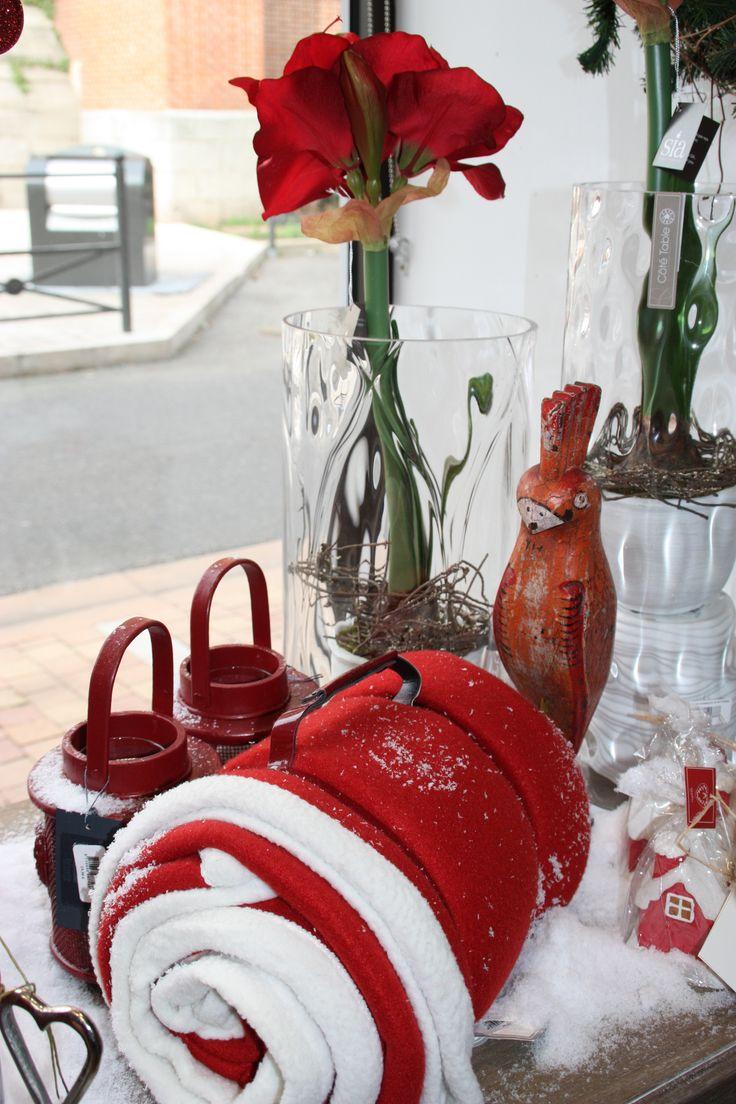 Noël traditionnel - Rouge et blanc - les nouvelles aventures de la déco