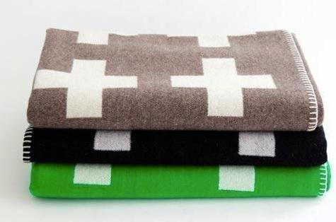 Fabrics & Linens: Crux Blanket by Pia Wallen : Remodelista