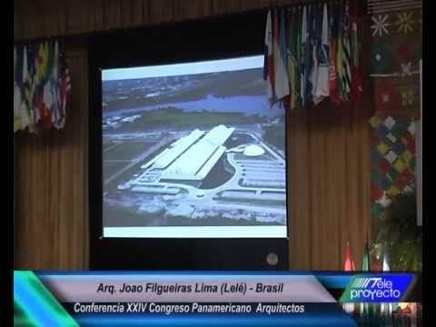 """Arquitecto Joao Filgueiras Lima """"Lelé"""" -- Artesano industrial de los pro..."""