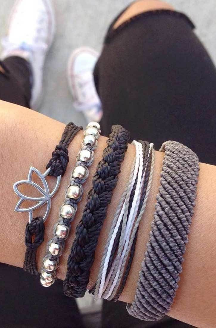 Cool Greys   Pura Vida Bracelets