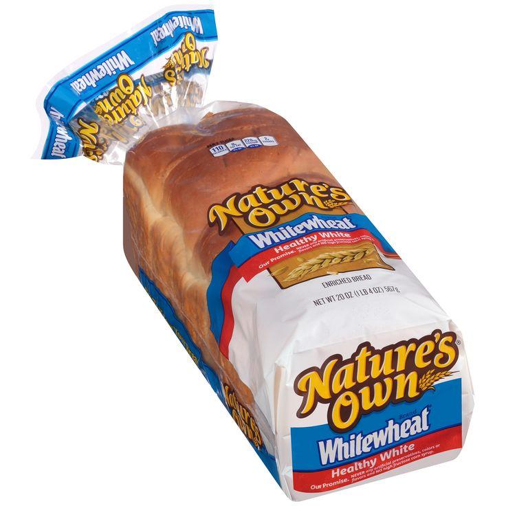 Nature's Own? Whitewheat? Healthy White Bread 20 oz. Bag