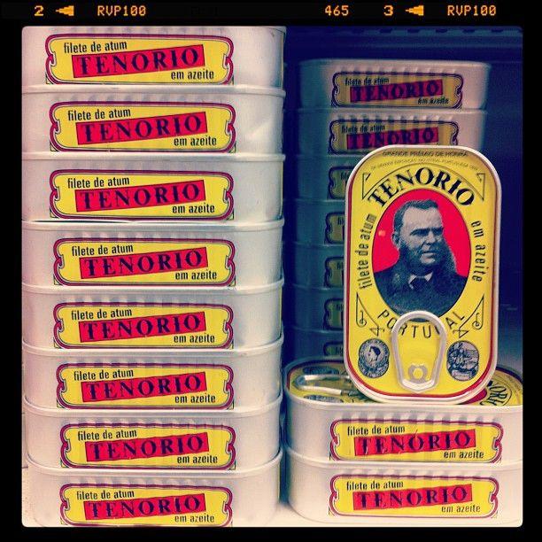 Portuguese tuna cans have great design