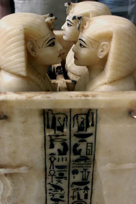 EGYPT. Cairo: Museum of Cairo. From Tutankhamon treasure.