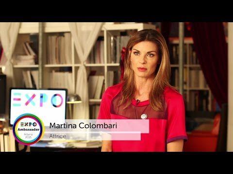 Ambassador Expo Milano 2015 Martina Colombari #Expo2015 #Milan