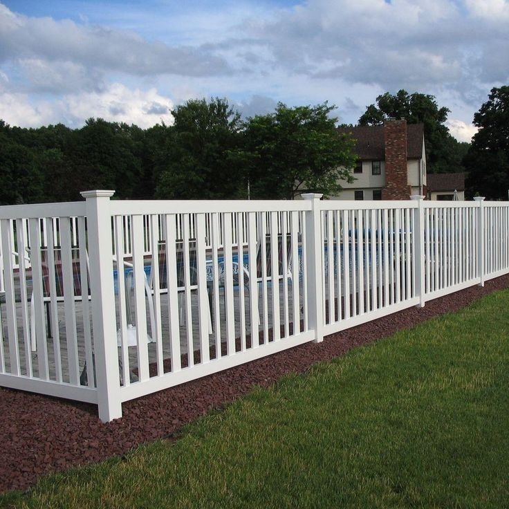 Eco Pvc Ranch Style White Security Pvc Fencing Types