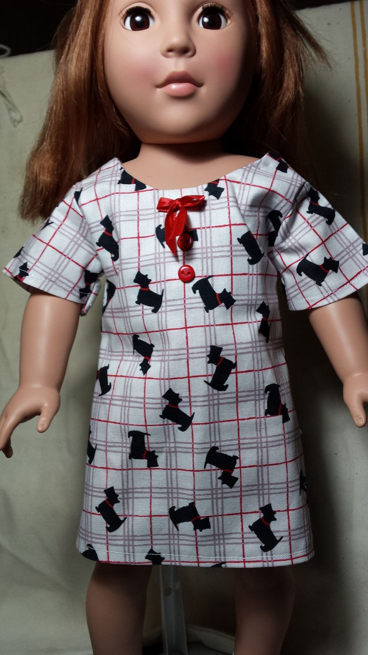 https://flic.kr/p/J8eiNr | 20160613_131317 | This is the Sunshine dress made  from a pattern by OH Sew Kat bought at Pixie Faire. This one has Scotties on it.
