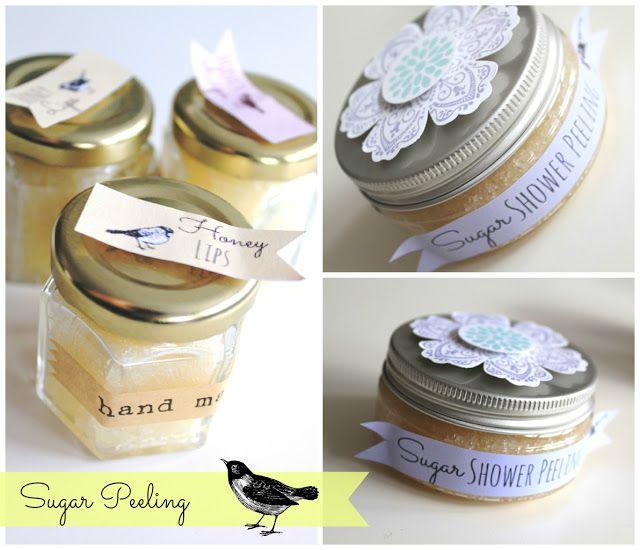 Diy: Sugar Peeling für Haut und Lippen http://ziermanufaktur.blogspot.de/