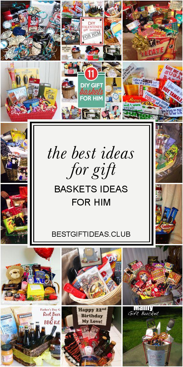The Best Ideas for Gift Baskets Ideas for Him #boyfriendgiftbasket Best ideas re...