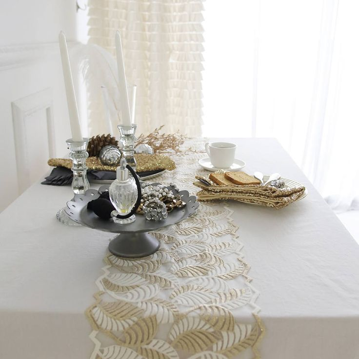 Excited To Share The Latest Addition To My #etsy Shop: White Ruffled  Tablecloth U0026