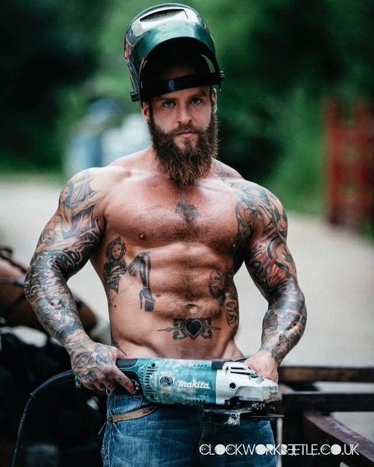#throwbackthursday #tbt to when I played with my tools shooting with Clockwork Beetle Photography. #photoshoot #model #altmodel #altguy #fitness #fitnessmodel #malemodel #manly #alphamale #tools #biker #mechanic #abs #muscle #guyswithmuscle  #gym #bodybuilding #topless #beards #guyswithbeards #beardedmen #beardsandtattoos #tattoosandbeards #tattoos #inkedup #guyswithtattoos #inkedguys #locomikemason