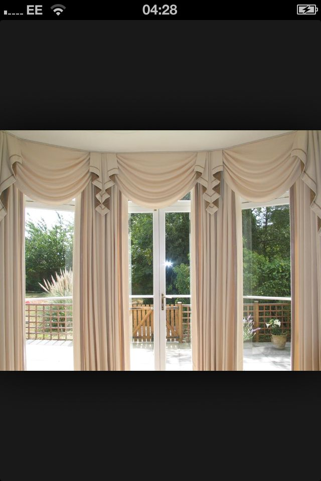 Valances For Bay Windows : Best rv window treatments images on pinterest