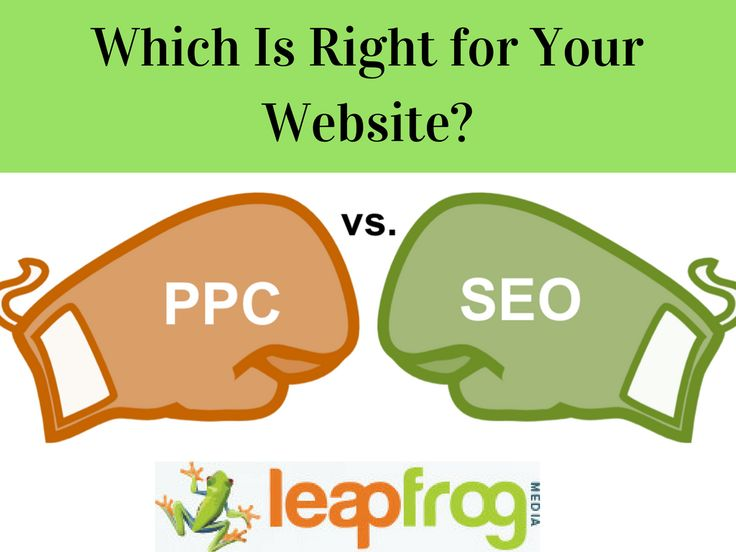 SEO vs. PPC  Read This Article https://www.entrepreneur.com/article/223567 For Knowing Which Is Right for Your Website.