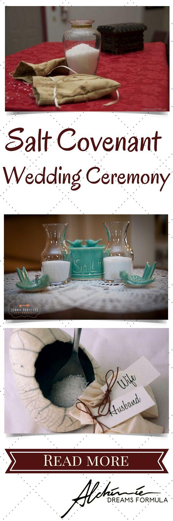 Salt Covenant Wedding Ceremony
