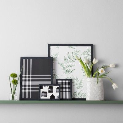 Wallpaper Black Plaid Hearth & Hand with Magnolia