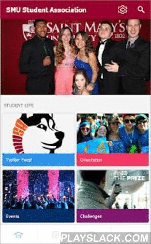 SMUSApp  Android App - playslack.com ,  SMUSApp is the official campus app for current Saint Mary's University students. Access your Saint Mary's University news, events, calendars, clubs, social media, maps and more. Stay organized with your classes and assignments through the timetable. Connect with the campus community through the campus feed.Features to help you with your student life + Classes - Manage your classes, create to-dos & reminders, and stay on top of assignments. + Study…