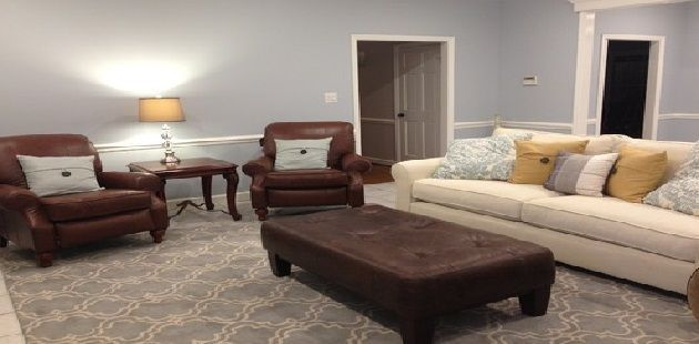 Fabric Sofa Design, Leather Living Room Groupings