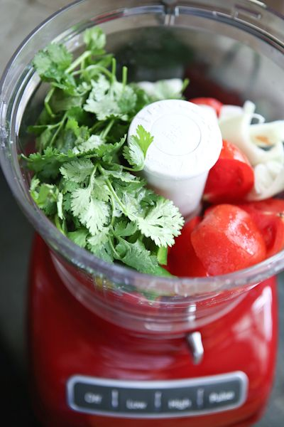 For a flavorful addition to your next party, put together a Fresh Salsa Bar from Aggie of Aggie's Kitchen on our blog. Use your KitchenAid® Food Processor for this recipe.