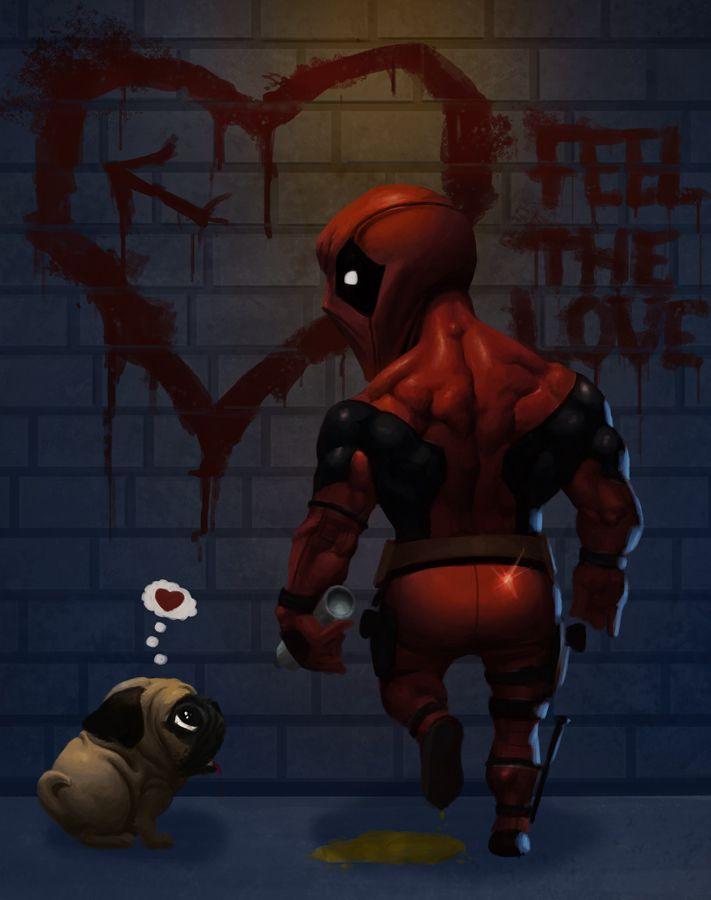 Deadpool: Feel the Love by Nestoronfire