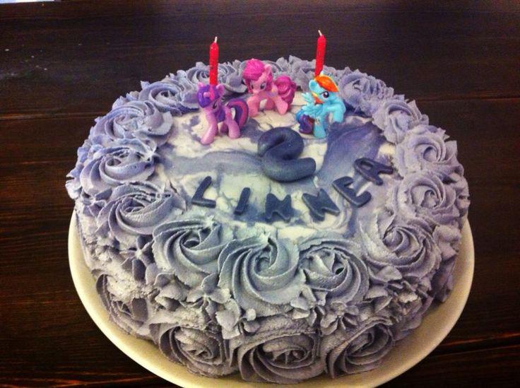 My little pony cream cake