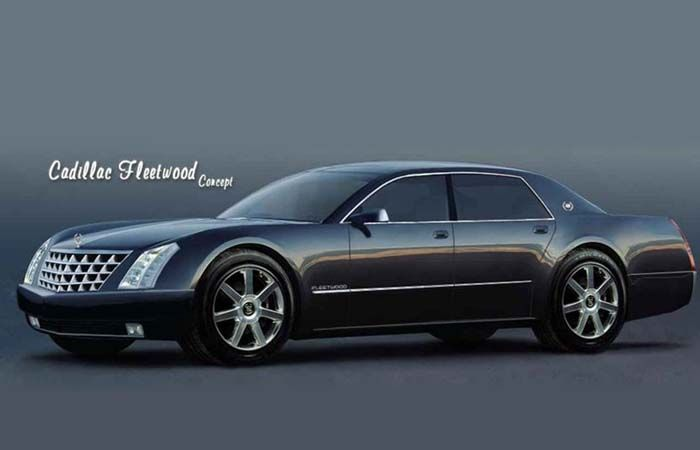 2018 Cadillac Fleetwood overview