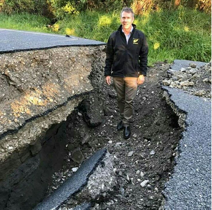 Bill ✔️ New Zealand's earthquake 14/11/2016. pics from around Kaikoura. Bill Gibson-Patmore. (curation & caption: @BillGP). Bill✔️
