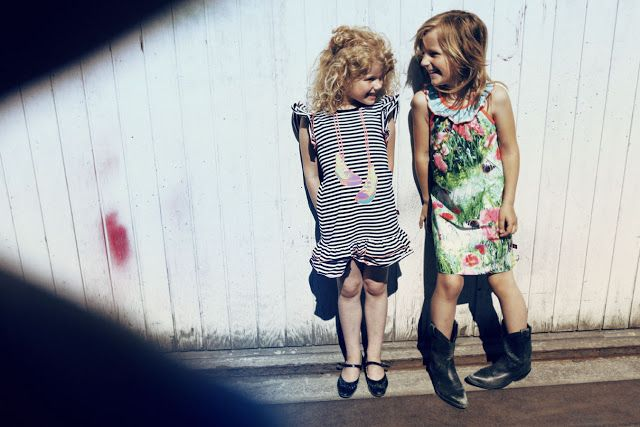 Il Mondo di Ingrid: Children's fashion that's heavy on the charm: molo kids Spring-Summer 2012